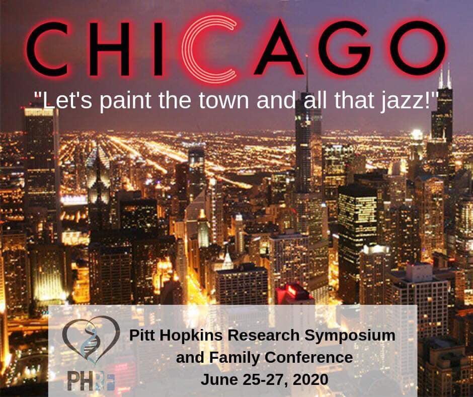 June 2020 Chicago Events.2020 Family Conference Scientific Symposium Pitt Hopkins